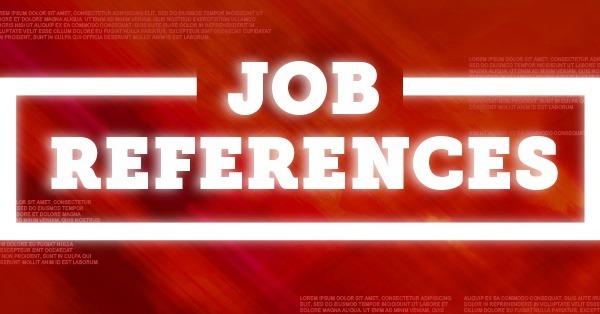 GLOWING JOB REFERENCES