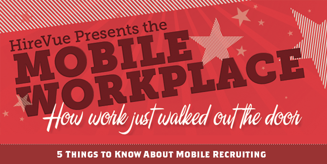 MOBILE RECRUITING [INFOGRAPHIC]