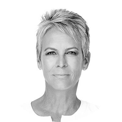 Headshot of Jamie Lee Curtis