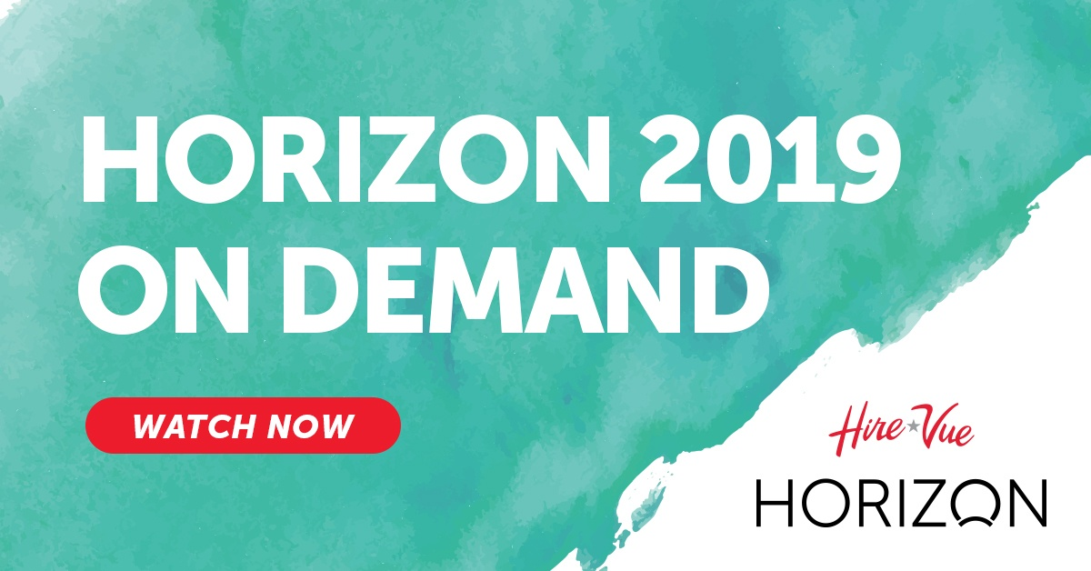 HireVue Horizon 2019