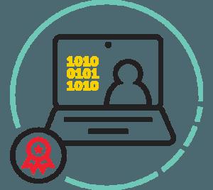 CodeVue Assessment Quantify color icon