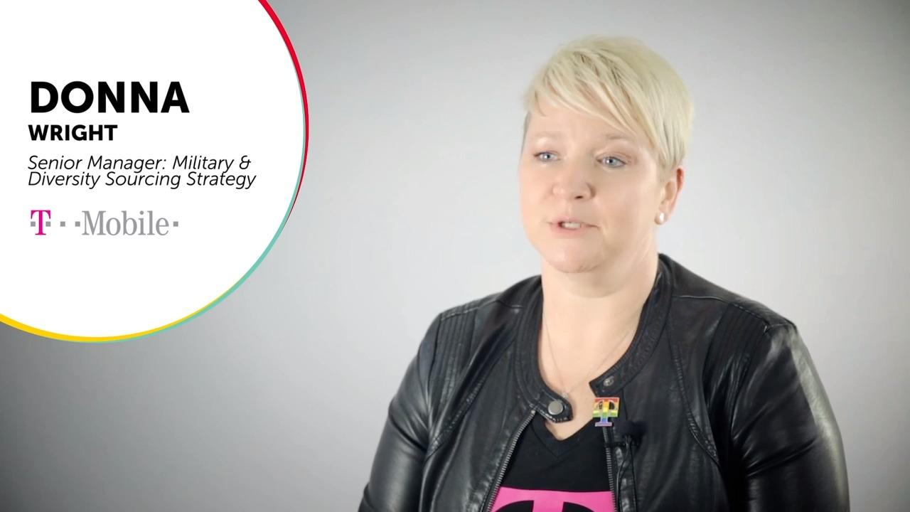 Donna Wright Senior Manager Military and Diversity Sourcing Strategy at T-Mobile