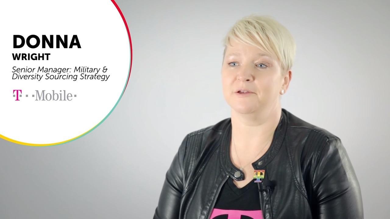 Donna Wright Senior Manager Military and Diversity Sourcing Strategy at T-Mobile thumbnail