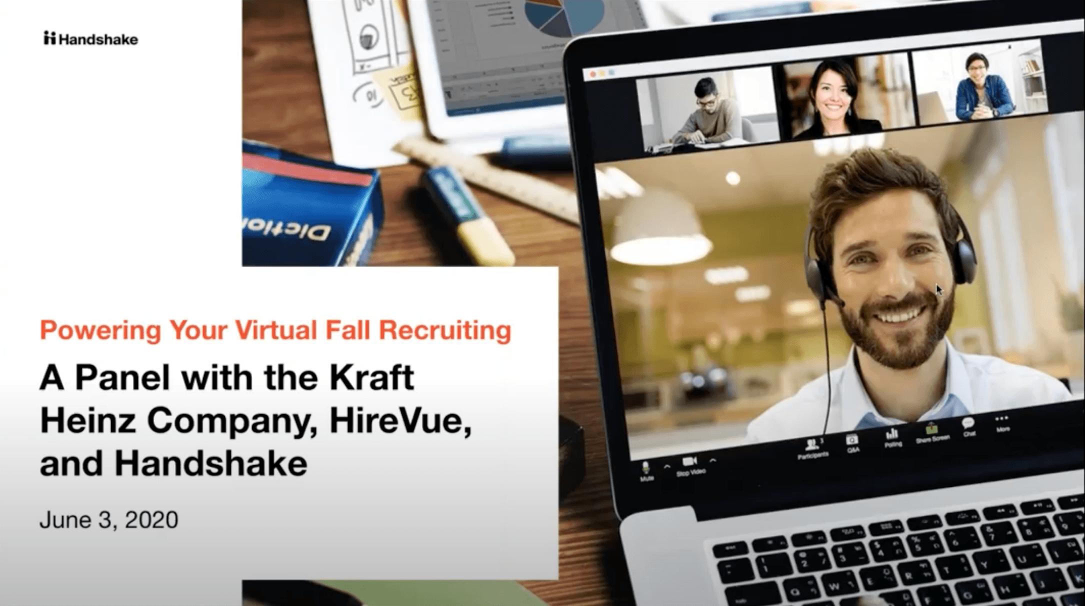 webinar powering your virtual fall recruiting
